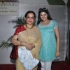 Moushmi Chatterji attend a Durga Puja event