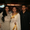 Rani Mukherjee and Vaibhavi Merchant attend a Durga Puja event