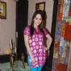 Hazel on the sets of Sony's Aahat  Malad