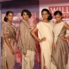 Models at the preview of the Grand Finale collection by Tarun Tahiliani for Wills Lifestyle India Fashion Week , Spring-Summer 2011 in New Delhi on Wednesday
