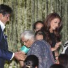 Amitabh and Aishwarya at Music release of 'Guzaarish' at Yash Raj Studio, Mumbai