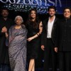 Hrithik, Sanjay Bhansali and Aishwarya at Music release of 'Guzaarish' at Yash Raj Studio, Mumbai