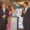 Abhishek and Sonali Bendre at Omega Constellation watches fashion show in Mumbai