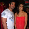 John Abraham and Bipasha Basu at Jhootha Hi Sahi Special Screening at Cinemax, Mumbai