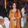 Zeenat Aman at Manish Malhotra Bridal Collection show at Taj Mahal Hotel at Mumbai