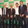 John Abraham and Ravi Shastri at Castrol-ICC World Cup Event at Mumbai