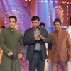 Golmaal 3 stars Ajay Devgan, Tusshar Kapoor and Shreyas Talpade on the sets Colors Diwali show