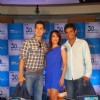 Mallaika Arora Khan makes Dino and Ritwik shave at Gillete 30 day challenge event at Taj President