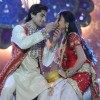Harshad Chopra & Anupriya Kapoor in the Karvachaut special act for Diwali Dilon ki on Star Plus