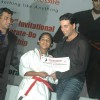 Akshay Kumar at Karate championships final at Andheri Sports Complex