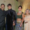 Vivek Oberoi with his new wife along with Dad and Mom