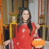 Priyal Gor from Preet Se Bandhi Ye Dori Ram Milaayi Jodi wishing Happy Diwali