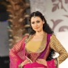 Model Walks for fashion designer Vikram Phadnis at Aamby Valley Indian Bridal Week day 4