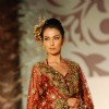 Model Walks for fashion designer Riyaz Ganji at Aamby Valley Indian Bridal Week day 4
