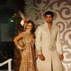 Neelam and Aditya Walk for fashion designer Riyaz Ganji at Aamby Valley Indian Bridal Week day 4