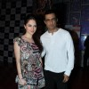 Sanjay Suri and Hazel Crowney at Music launch of 'A Flat'