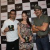 Sanjay Suri, Jimmy Shergill and Hazel Crowney at Music launch of 'A Flat'