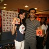 Anushka Sharma and Ranveer Singh at Music launch of Movie Band Baaja Baaraat at Reliance Trends