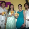 "Aadesh Shrivastav, Alka Yagnik and Prachi Desai at the album launch of ""Kahan Mein Chala"" at Sun N S"