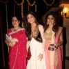 Shilpa Shetty and Shamita Shetty with her mother graces Ekta Kapoor's Diwali bash