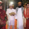 Ali's mom- Salma, Ali's Father-Ashik Abbas, Maulana, and Sara's mama- Irshad in Sara Ali wedding