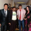 Govinda, Celina and Vivek at Country Club New Year Party Press Meet at Andheri