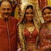 Ragini with her mother and father