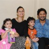 Arshad Warsi with his family celebrate success of their film with underprivileged kids on Children�s