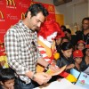 Arjun Rampal celebrate Children�s Day with underprivileged kids at McDonalds at Fun Republic in Andheri, Mumbai