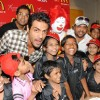 Arjun Rampal & Sajid celebrate Children's Day with underprivileged kids at McDonalds at Fun Republic in Andheri, Mumbai