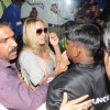 Bigg Boss Season 4: Pamela Anderson arrives at the Mumbai International Airport