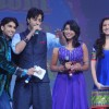 Anushka, Salim and Ranveer at Band Baaja Barat promotional musical event at Yashraj Studio