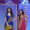 Anushka Sharma and Sunidhi Chauhan at Band Baaja Barat promotional musical event at Yashraj Studio