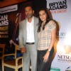 Sunil and Mana Shetty at Bryan Adams live concert press meet at Grand Hyatt, Mumbai