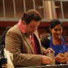 Rishi Kapoor helping contestant on tv show Master Chef India