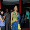 Deepika Padukone on the sets of Sa Re Ga Ma Pa.................