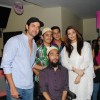 Hrithik Roshan and Aishwarya Rai at special show of Guzaarish for special kids and paraplegic patients at PVR Cinemas in Juhu, Mumbai