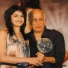 Mahesh Bhatt and Prach Desai at Once Upon a Time film success bash at JW Marriott in Juhu, Mumbai