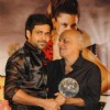 Emraan Hashmi and Mahesh Bhatt at Once Upon a Time film success bash at JW Marriott in Juhu, Mumbai