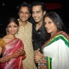 Ratan Rajput and Rupali Ganguly at Wedding celebration party of Sachal Tyagi & Jaya Binju