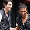 Akshay Kumar is laughing in Kambakth Ishq