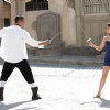 Akshay Kumar sword fight with Kareena | Kambakkht Ishq Photo Gallery