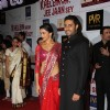 Abhishek Bachchan and Deepika Padukone at Premier Of Film Khelein Hum Jee Jaan Sey
