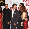 Ashutosh, Abhishek and Hrithik at Premier Of Film Khelein Hum Jee Jaan Sey