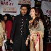 Abhishek and Aishwarya Rai Bachchan at Premier Of Film Khelein Hum Jee Jaan Sey