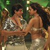 SRK and Deepika dancing | Billu Barber Photo Gallery