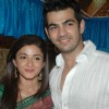Karan Grover & Suhasi Dhami at �Yahan Main Ghar Ghar Kheli� celebrates the completion of one year