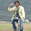 Shahrukh Khan riding High on cycle | Billu Barber Photo Gallery