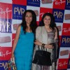 Suchitra Krishnamurthy and Kiran Juneja at Rayban Film festival, PVR. .