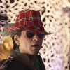 Shahrukh looking wonderful in red hat